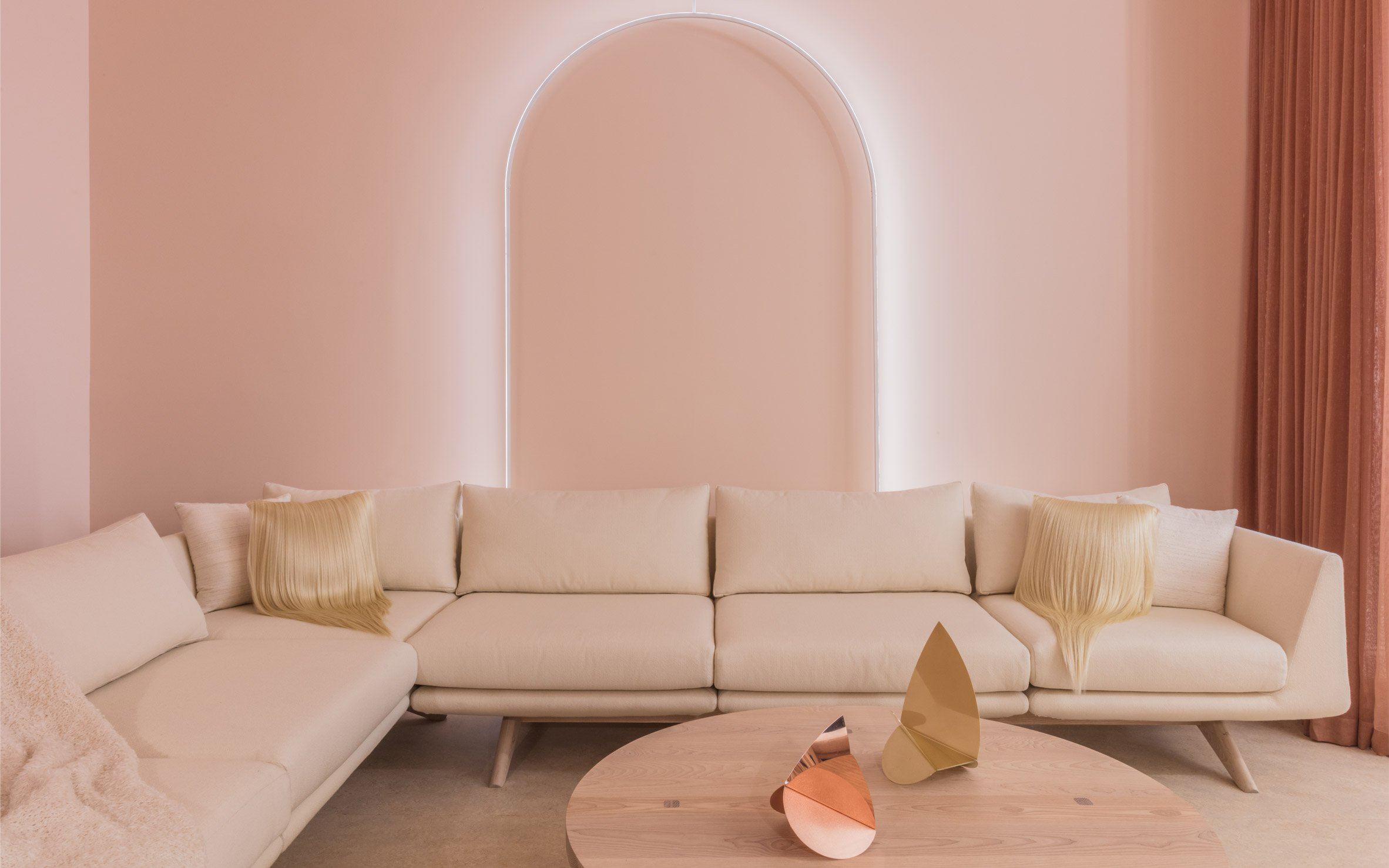 The Outlines Exhibition In NY Showcases Pink Shades