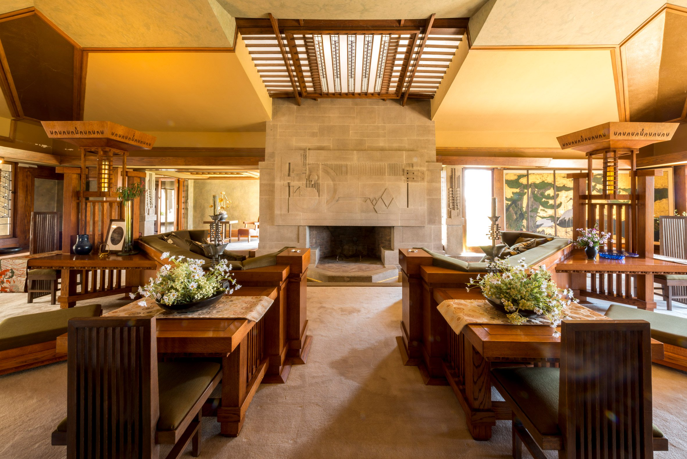 Celebrating Frank Lloyd Wright S 150th Birthday Hollyhock