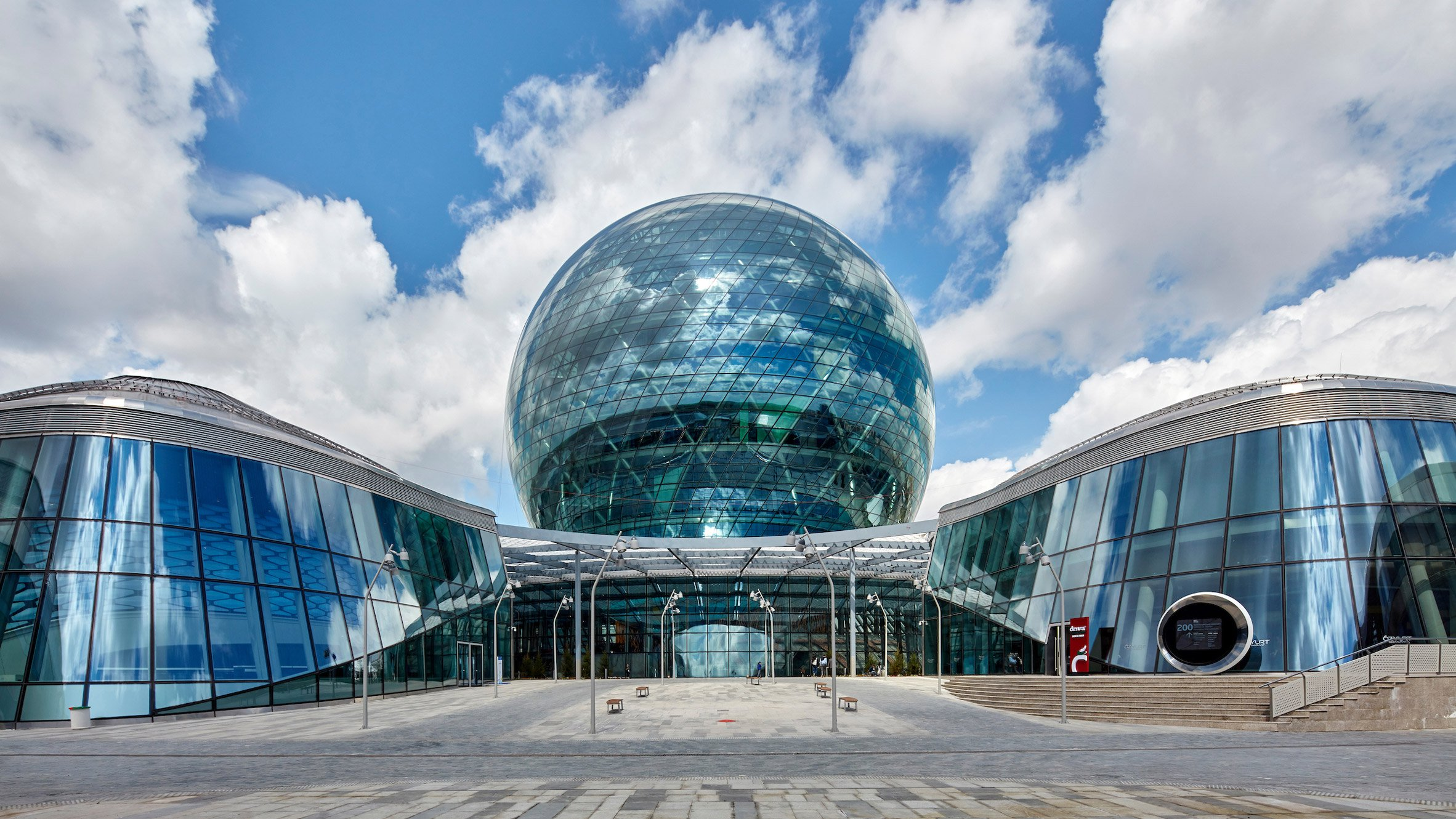 Energy-themed pavilions at Astana Expo 2017