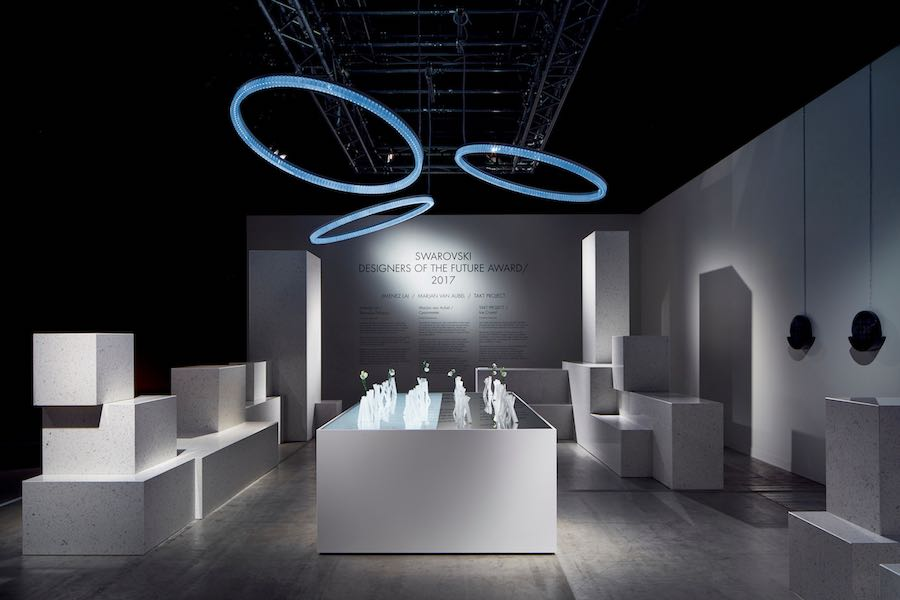 Swarovski Designers Of The Future Award Winner At Design Miami Basel
